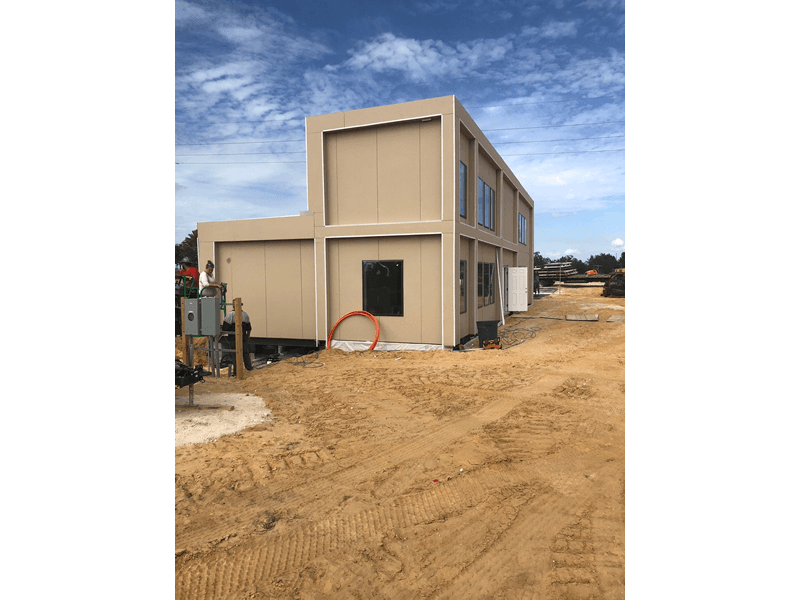 Modular Building Construction Process from Start to Finish.