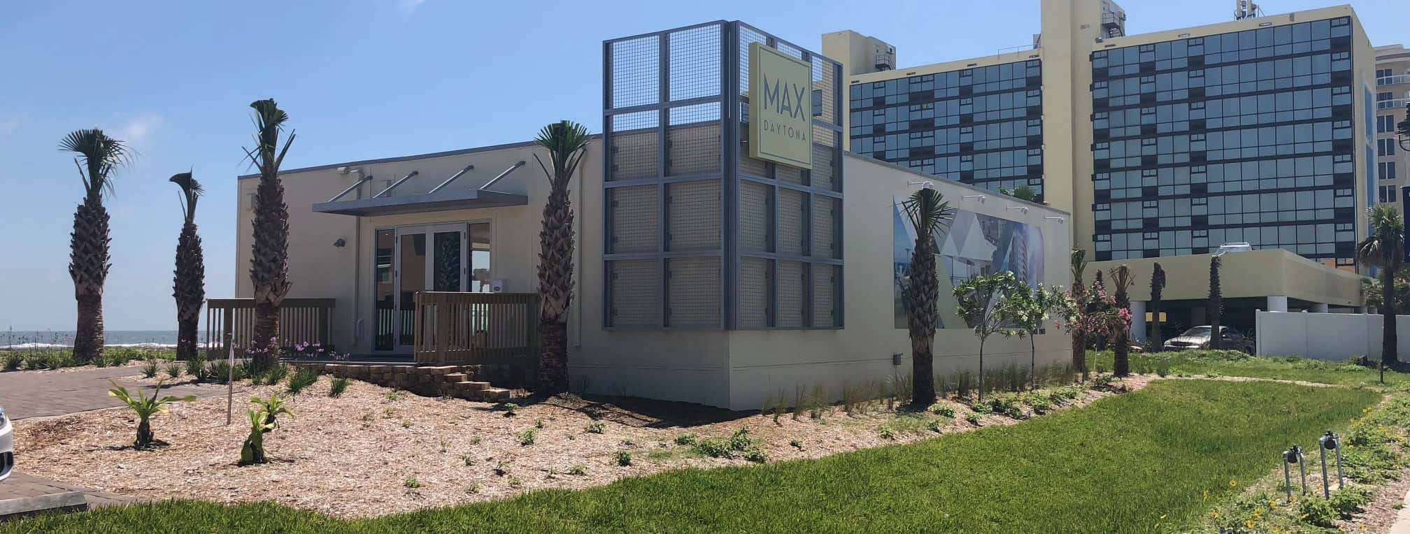 Call (813) 975-7256 for a Modular Sales Office Building. Max Daytona was custom built for a high end high rise condo project right on the beach in Daytona.