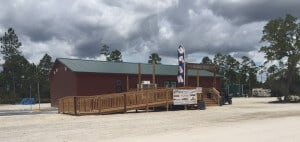 Located in Lee County, Tracks & Trails is an Entertainment Park with a 2,600 sq. ft. Modular.